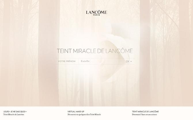 LANCOME 2010 - we are type