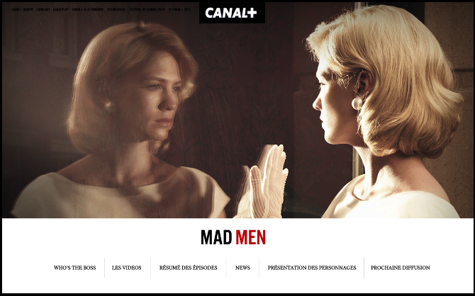 CANAL + MADMEN 2010 - we are type