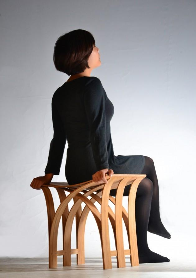 Flexible Bamboo Stool by Grass Studio » CONTEMPORIST