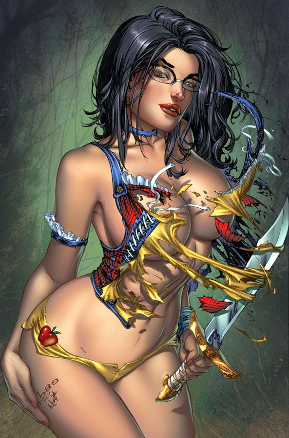 Grimm Fairy Tales 65 Secret Cover by `ToolKitten
