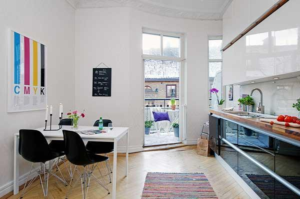 Unique Top Floor Duplex Apartment In Gothenburg