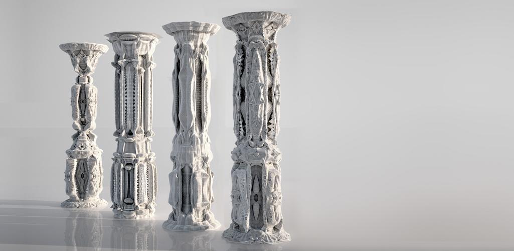 Michael Hansmeyer - Computational Architecture: Columns