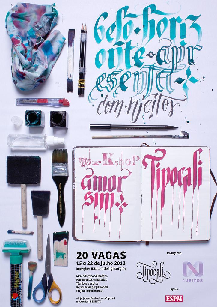 All sizes | Cartaz workshop Tipocali no Njeitos 2012 | Flickr - Photo Sharing!