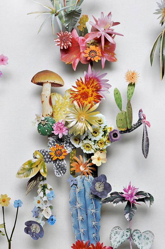 Flower Art by Anne Ten Donkelaar paper flowers Anne Ten Donkelaar005 – Polka Dot Bride