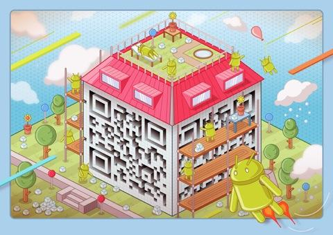 Illustrated QR codes in full colour by Am I Collective — Lost At E Minor: For creative people