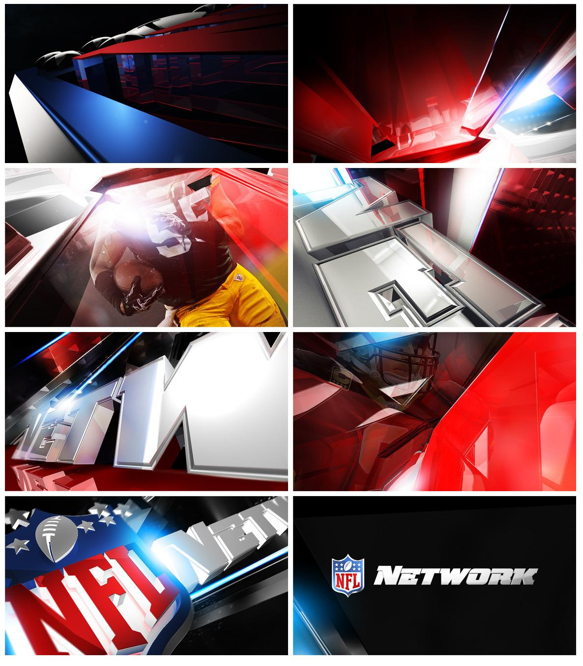 NFL Network ID - Nate Howe Freelance Design + Direction artistique