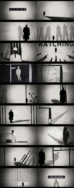 Le Prisonnier - Nate Howe Freelance Design + Direction artistique