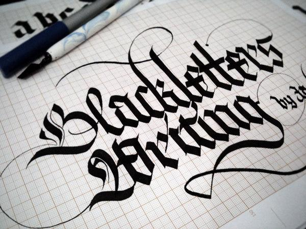 40 Remarkable Examples Of Hand Lettered Calligraphy | inspirationfeed.com