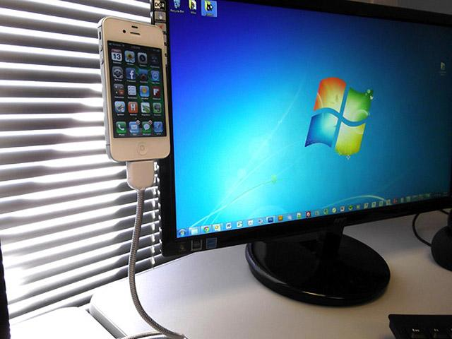 Bobine iPhone Cable Stand | Fancy Crave