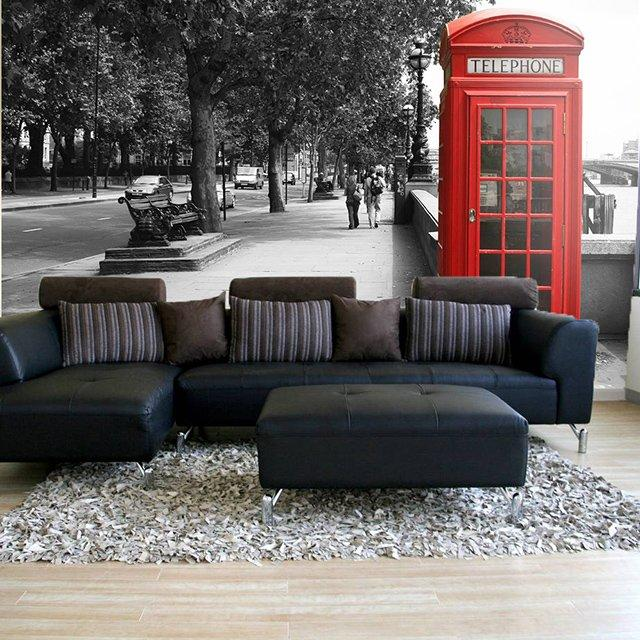 British Telephone Wall Mural | Fancy Crave