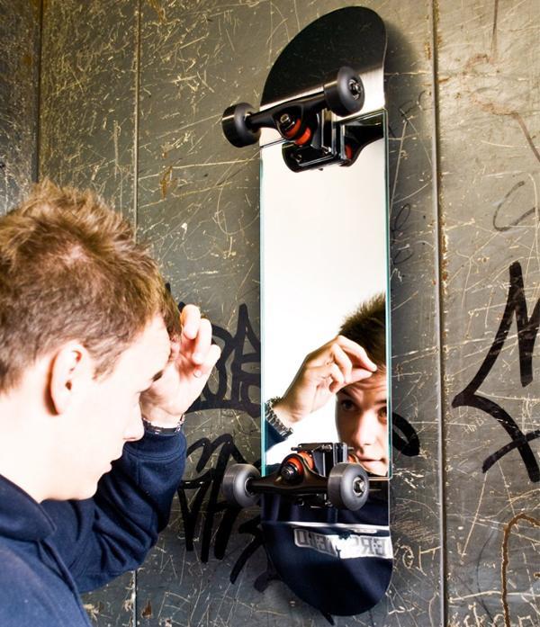 Suck UK Skate Mirror | Fancy Crave