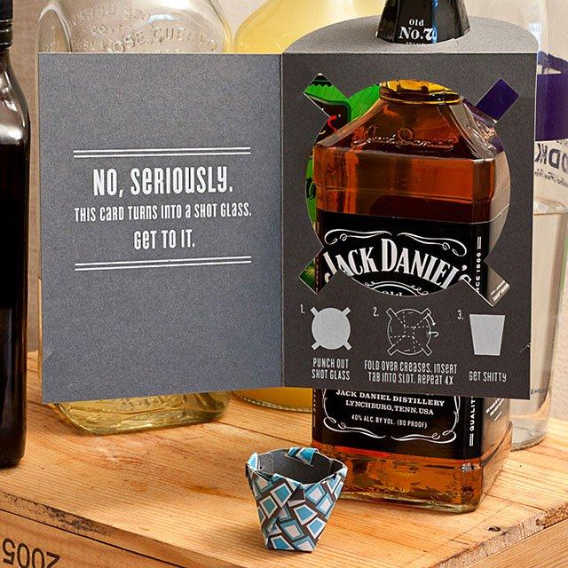 Shot Glass Card | Fancy Crave