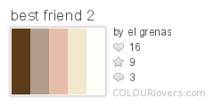 Palette / best friend 2 :: COLOURlovers