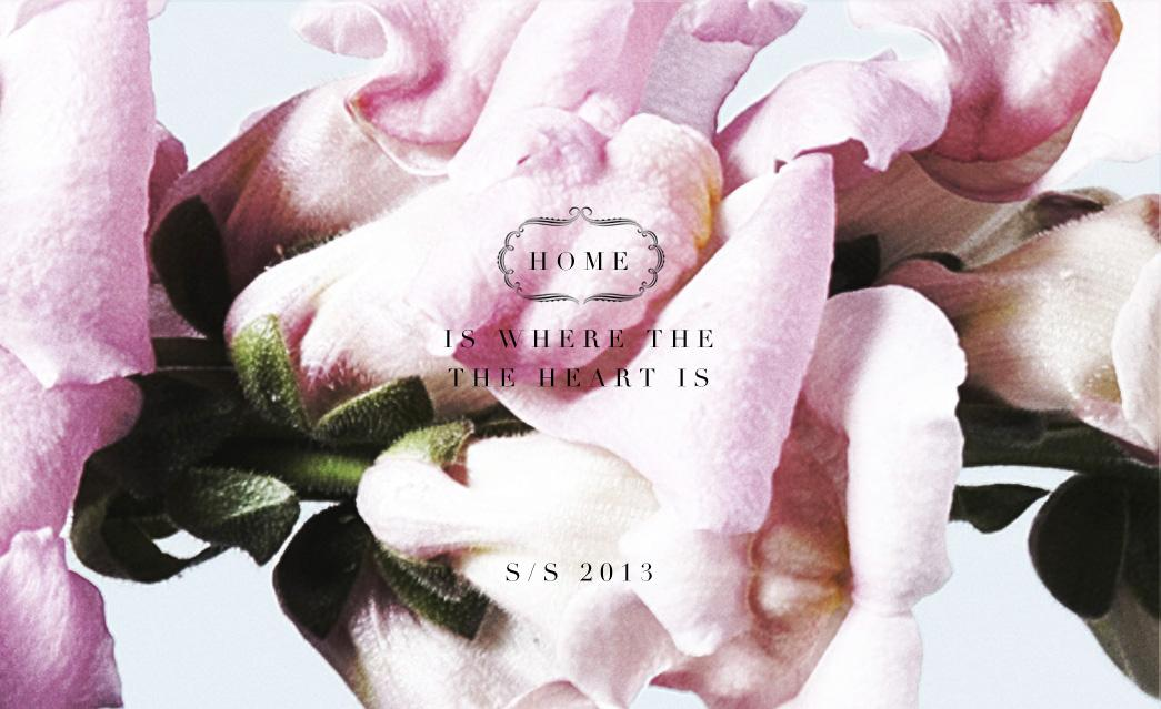 Vish - Home is where the heart is - S/S 2013
