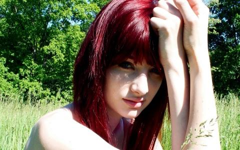 HD Red Hair Girl wallpapers