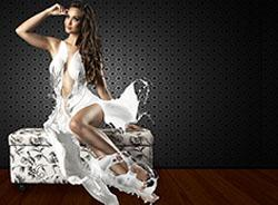 Photos of Ariana Martins with a Water Dress by Paulo Ebling Photography