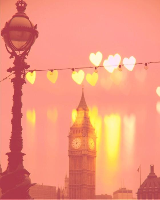 London Big Ben photo Night Rainbow Fine Art by KeriBevan on Etsy