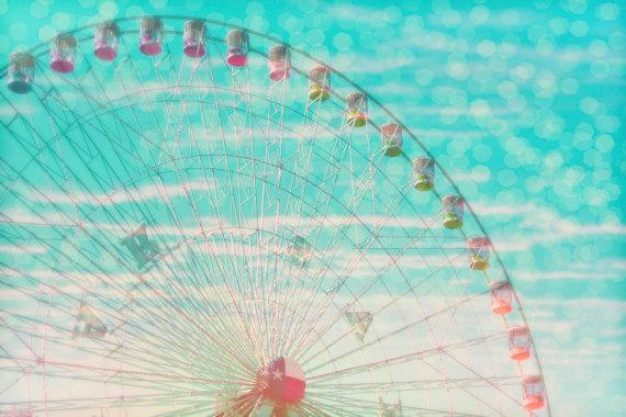 8x10 photograph Sky Ride fine art print by maybesparrowsplace