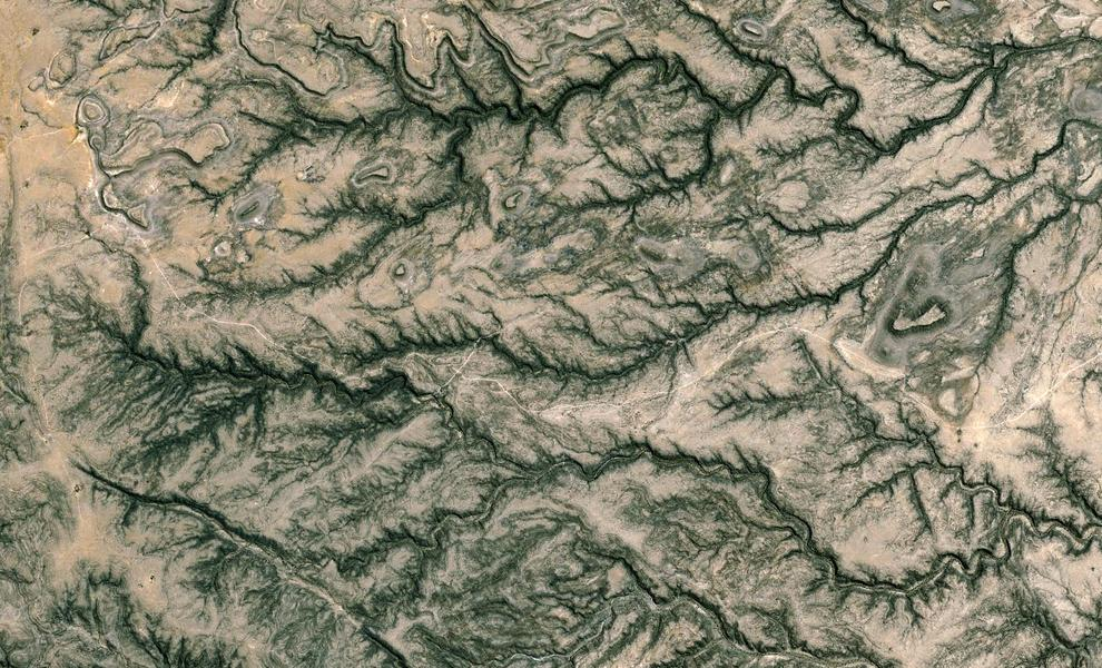 7 Satellite Photos That Look Like Math