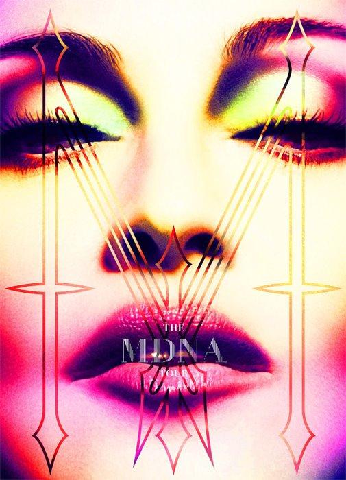 Official Madonna cover for the MDNA tour book! | @Loft965