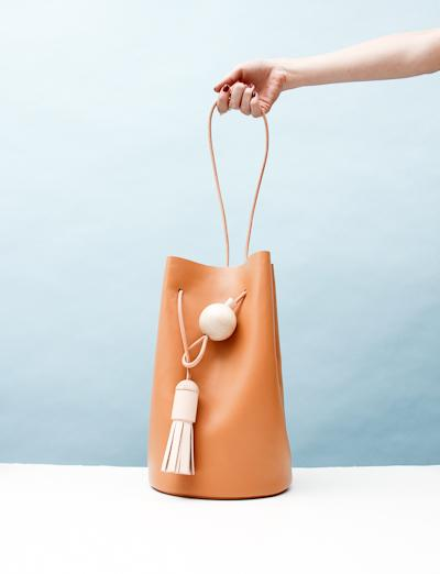 Building Block Butter Bag- Caramel