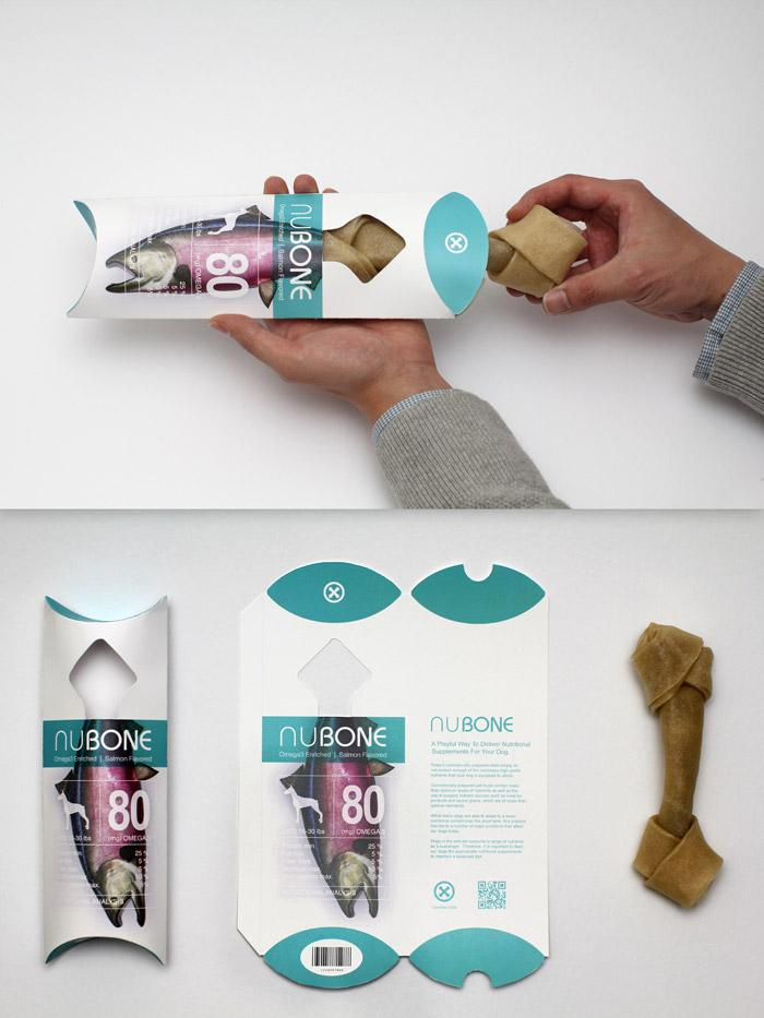 NuBone - Nutritional Supplements - The Dieline -