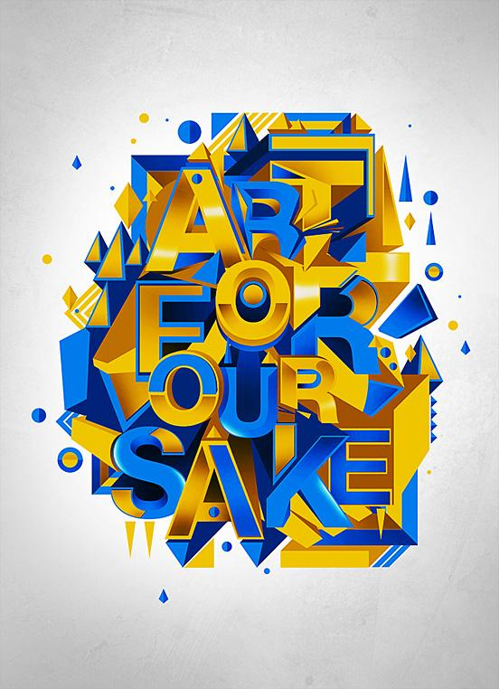 50 Remarkable Examples Of Typography Design #7   inspirationfeed.com