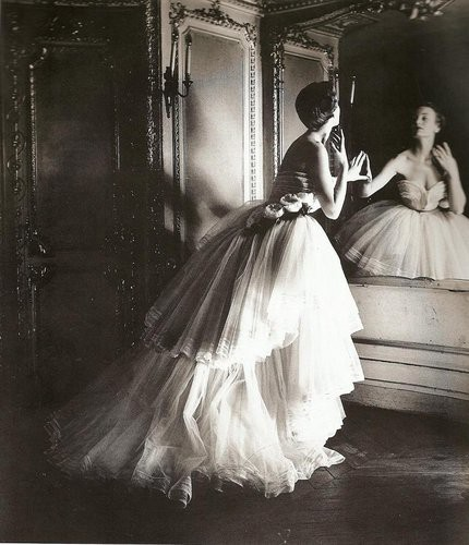 Vintage / 1950 Christian Dior evening dress