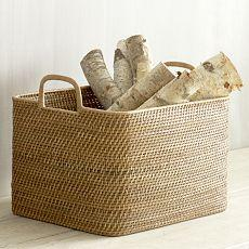 Storage Baskets, Storage Hampers & Modern Storage Baskets | west elm