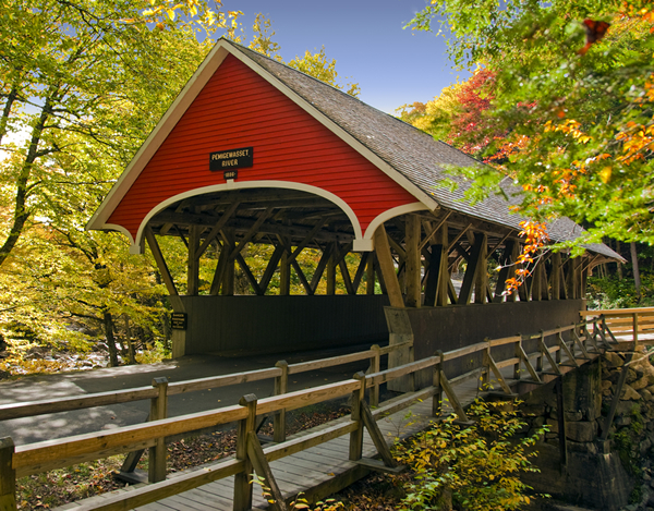 Pack Your Bags ~ The White Mountain Covered Bridges Await! | cinda b buzz
