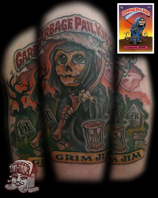Garbage Pail Kids - Grim JIM | Flickr – Condivisione di foto!