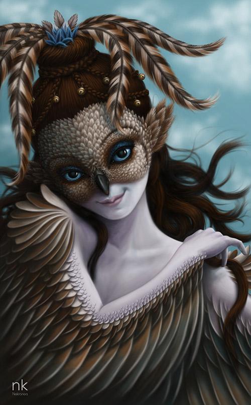 Fantastical Digital Paintings by Jezabel Nekranea - What an ART