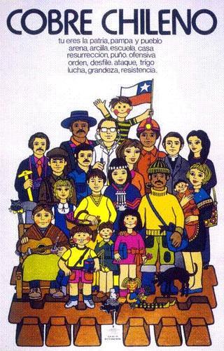 Más tamaños | cobre chileno, afiche unidad popular | Flickr: ¡Intercambio de fotos!