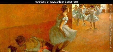 Dancers Climbing the Stairs 1886 90 - Edgar Degas - www.edgar-degas.org