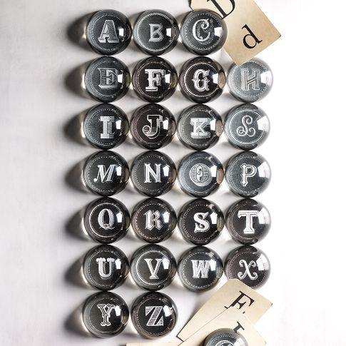 Alphabet Paperweights | west elm