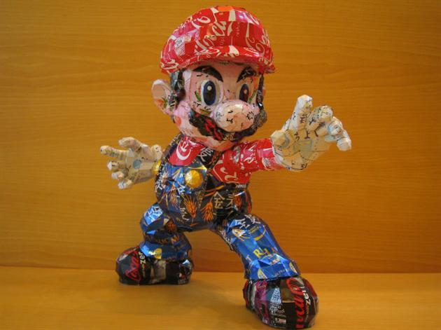 Recycled Can Pop Culture Characters by Macaon | HiConsumption