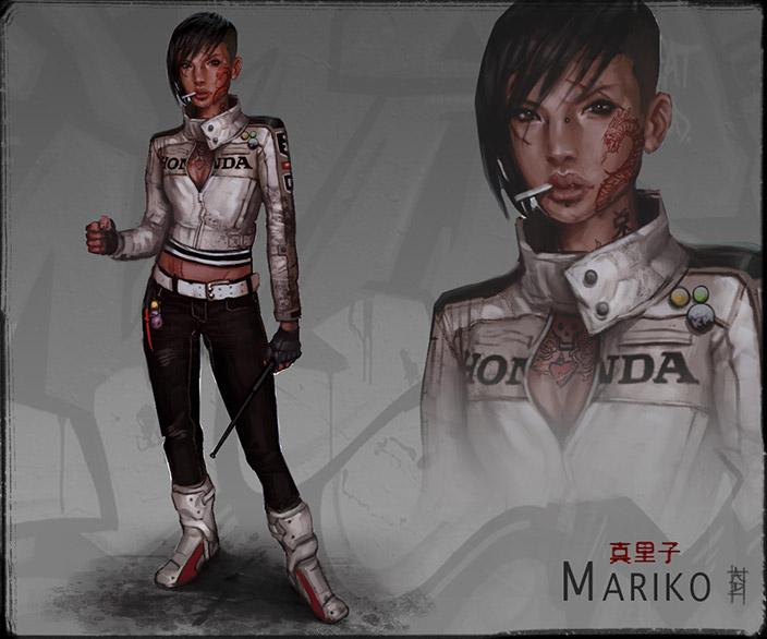 Mariko by domoarigato - Andrew Domachowski - CGHUB