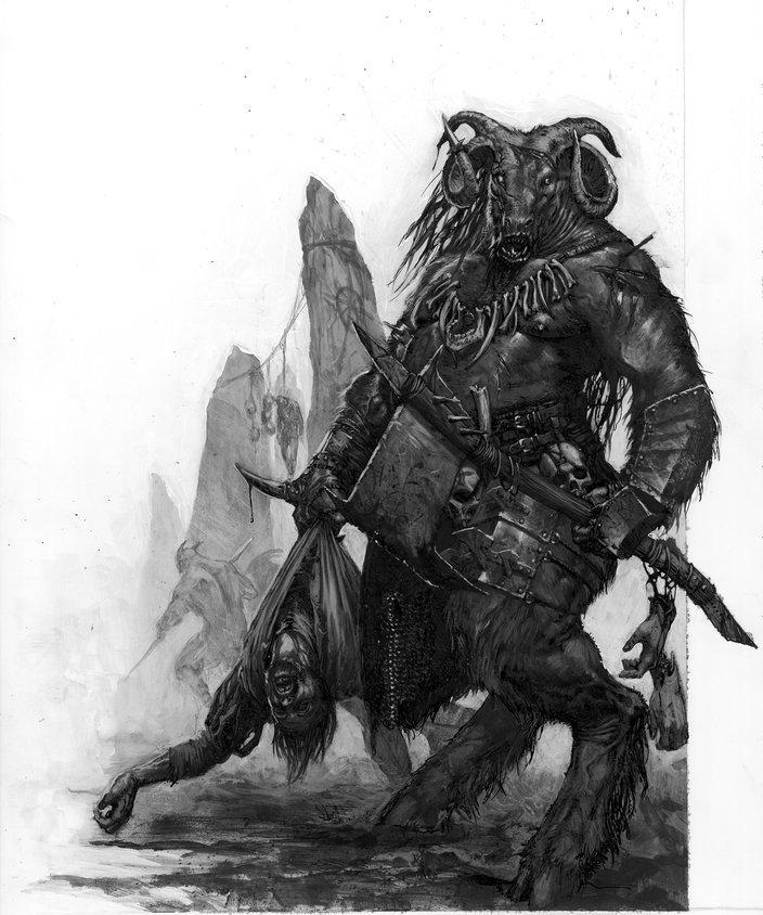 beastman by karlkopinski - Karl Kopinski - CGHUB