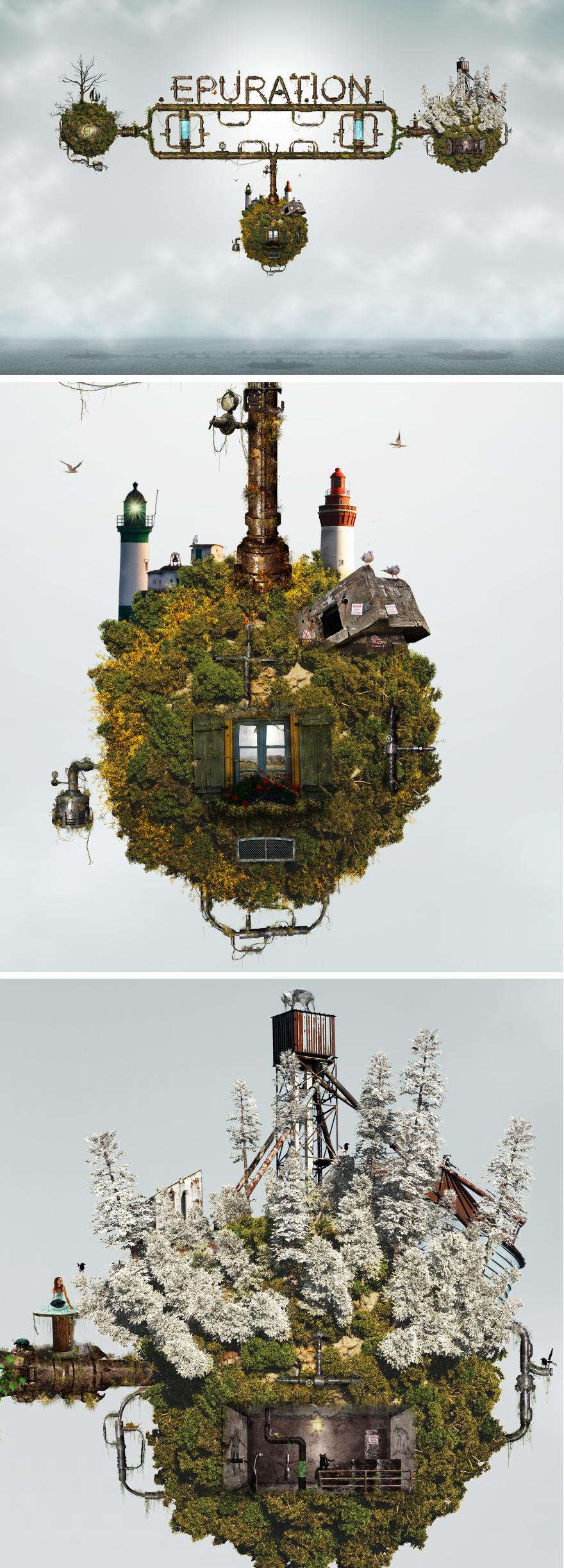 Epuration - Photoshop - Creattica