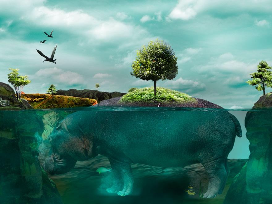 Isla - Photoshop - Creattica
