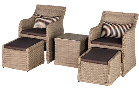 Barbeques Galore - Products - Modena Roma 5 Piece Chat Furniture Setting