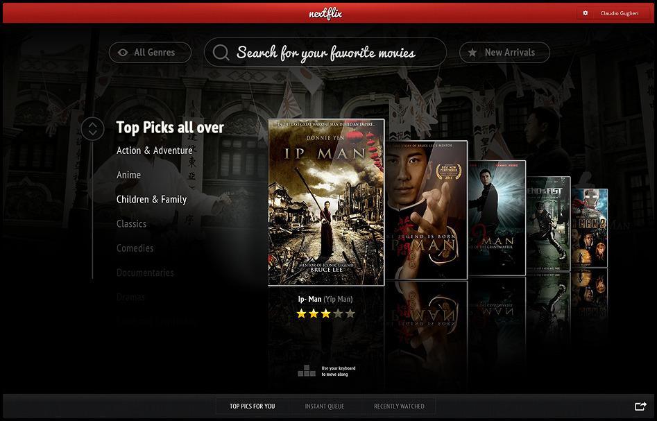 Netflix Chrome App - WhyDontWeTry
