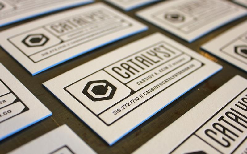 FPO: Catalyst Business Cards