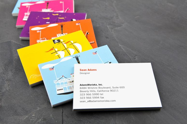 FPO: Sean Adams MOO Luxe Business Cards