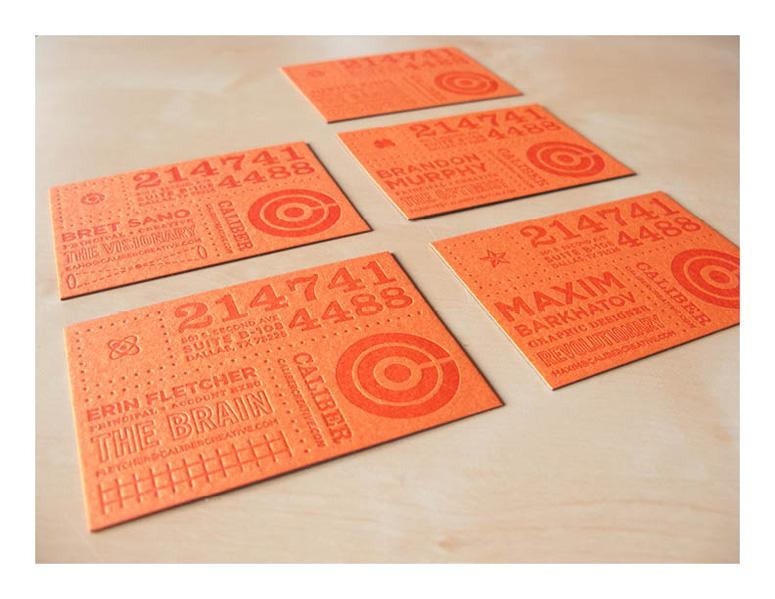 FPO: Caliber Creative Business Cards