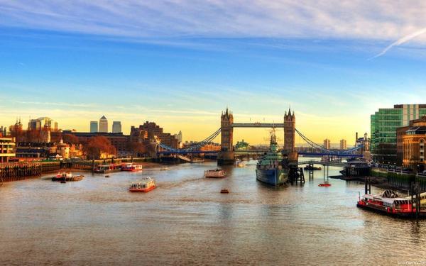 cityscapes,London cityscapes london bridges 1680x1050 wallpaper – Bridges Wallpapers – Free Desktop Wallpapers
