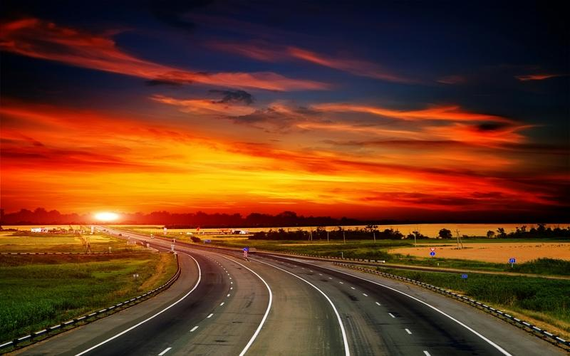 landscapes,sunset sunset landscapes highway roads skyscapes 2560x1600 wallpaper – landscapes,sunset sunset landscapes highway roads skyscapes 2560x1600 wallpaper – Sunsets Wallpaper – Desktop Wallpaper