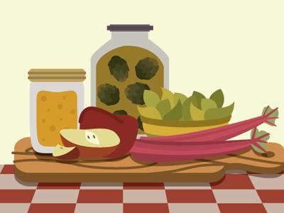 foods by Nate Koehler