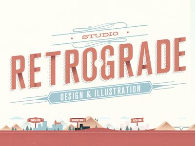 Retrograde New Logo by Howard Gonzales