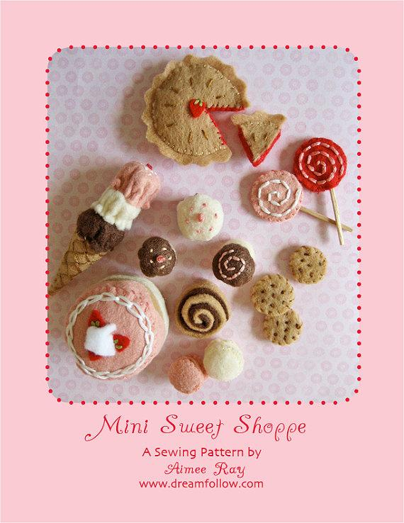 Mini Sweet Shoppe PDF pattern par littledear sur Etsy